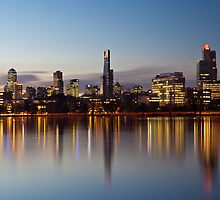 Albert Park Twilight by Enzo Sgroi