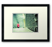 Leaving Southbank Framed Print