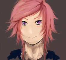 Pink Haired by ansinoa