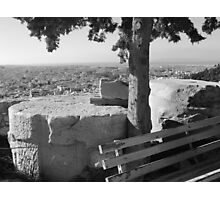 Highest Point of the City - Acropolis Photographic Print
