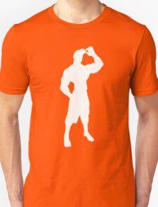 T-shirt outline AlbronMuscle Silhouette Unisex T-Shirt