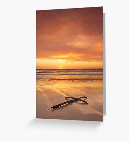 The Seashore Of Remembrance Greeting Card