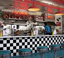 Route 66 Cafe by © Loree McComb