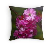Cherry Blossom  (Spring) Throw Pillow