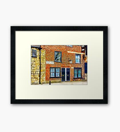 College Street - York Framed Print