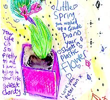 Little Spring-By Princess Moon Feathers by Ella May