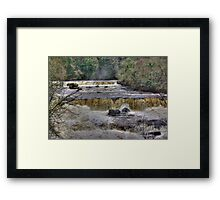 The Falls - River Ure Framed Print