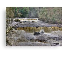 The Falls - River Ure Metal Print