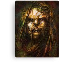 """Tomek Biniek """"Uruk-hai, Orc"""" Canvas Print"""