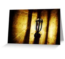 Canons Ashby Church Light Greeting Card
