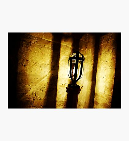 Canons Ashby Church Light Photographic Print