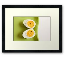 Boiled Egg Framed Print