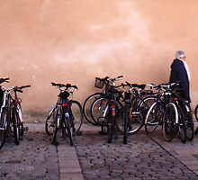 Bicycles at La Rochelle by SoulSparrow