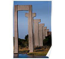 Imaginary Bridge Trestle Poster