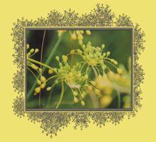 Allium Flavum or Yellow Fireworks Allium Baby Tee