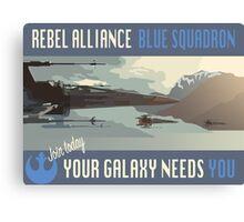 Rebel Alliance Blue Squadron Canvas Print