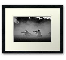 German WWII Soldiers Framed Print