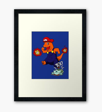 Chario Framed Print