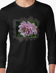 Double Columbine named Pink Tower Long Sleeve T-Shirt