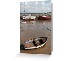 youghal harbour Greeting Card