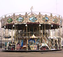 La Rochelle merry-go-round by SoulSparrow