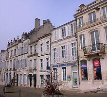 La Rochelle, misty morning by SoulSparrow