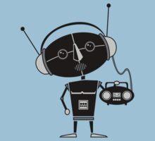 Radio Robot Kids Tee