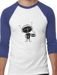 Radio Robot Men's Baseball ¾ T-Shirt