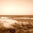 Sepia Sandscape by Alex Simpson