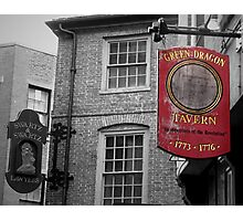 Boston: Green Dragon Tavern Photographic Print