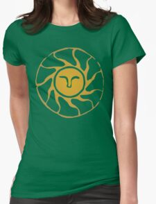 Praise the Sun Womens Fitted T-Shirt