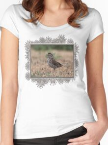 Savannah Sparrow Women's Fitted Scoop T-Shirt