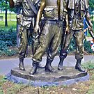 The Three Soldiers by David Davies