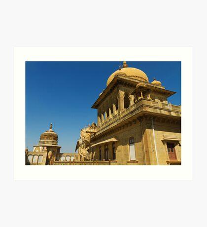 King's abode, Vijay Vilas Palace Art Print