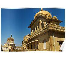 King's abode, Vijay Vilas Palace Poster