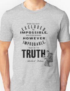 Sherlock's Truth Unisex T-Shirt