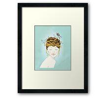 Nest Hair Framed Print