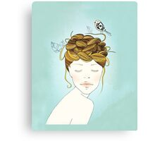 Nest Hair Canvas Print