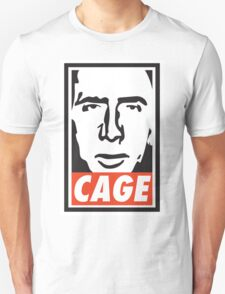 OBEY NICK CAGE  Unisex T-Shirt