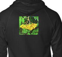 Yellow Berries Zipped Hoodie