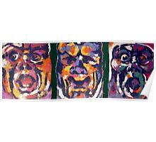 Mono Triptych Poster