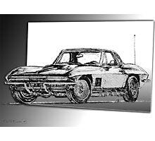 1967 Corvette Photographic Print