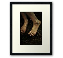 Bare Foot Framed Print