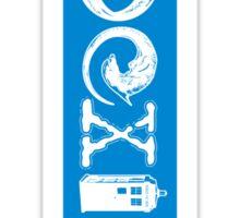 COEXIST - Let the Worlds of Nerdom Unite! - STICKER Sticker