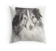 Sheltie Throw Pillow