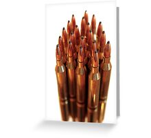 golden ammo  Greeting Card