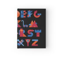 Alphabet Hardcover Journal