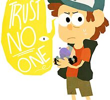 Trust No One by FleurCrafts
