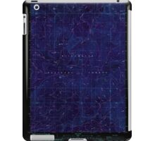 USGS Topo Map Oregon Groundhog Mountain 280109 1986 24000 Inverted iPad Case/Skin