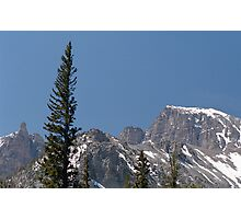 Wheeler Peak, Great Basin National Park Photographic Print
